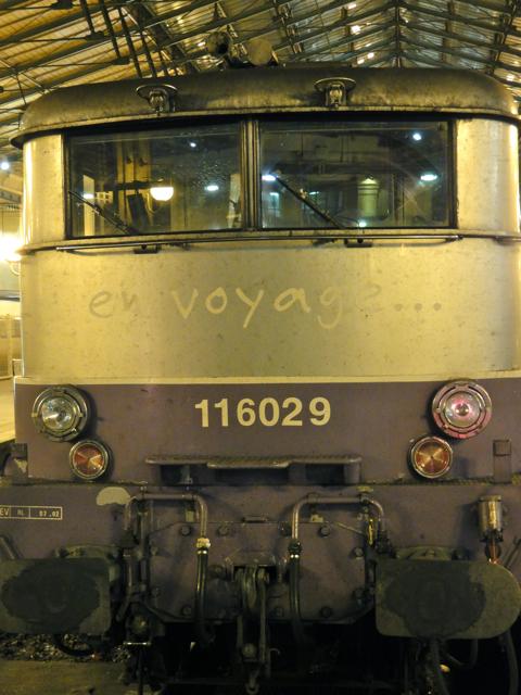 5/1/2011 - Paris, Gare du Nord, Locomotive